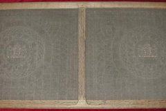 Papierschepvorm met watermerk Geldwaardig Papier JeMaintiendrai