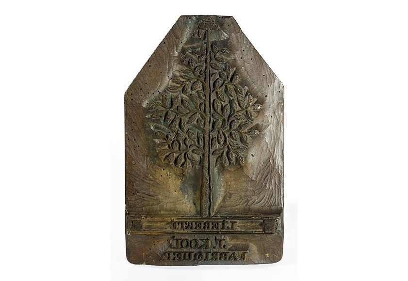 Merkblok Vrijheidsboom J. Kool