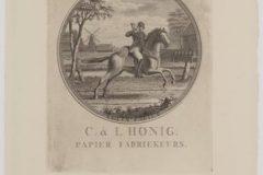 Riemkap C & J Honig Breet – Postruiter – Velijnpapier