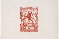 Riemkap J. Honig & Comp. – Klimmende leeuw