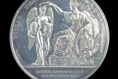 Zilveren tentoonstellingsmedaille