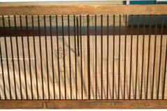 Schepvorm met houten lijst en watermerk
