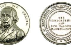 Zilveren penning ter nagedachtenis van Pieter Smidt van Gelder