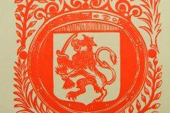 Riemkap Hollandse Leeuw – medaillon C & J Honig