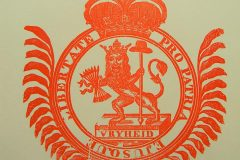 Riemkap Pro Patria – Vryheid – Hollandse Leeuw C & J Honig rood