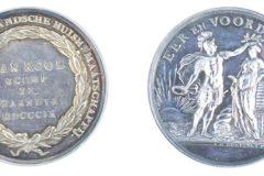 Zilveren Eer-Prys der Hollandsche Huishoudelijke Maatschappij