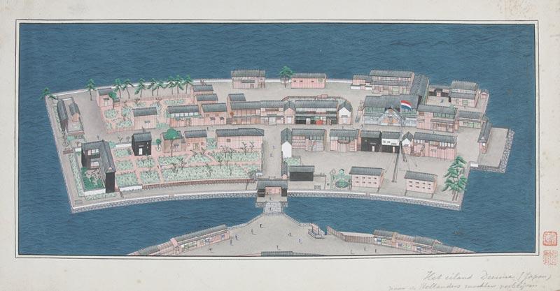 Japanse kunst op Zaans Papier
